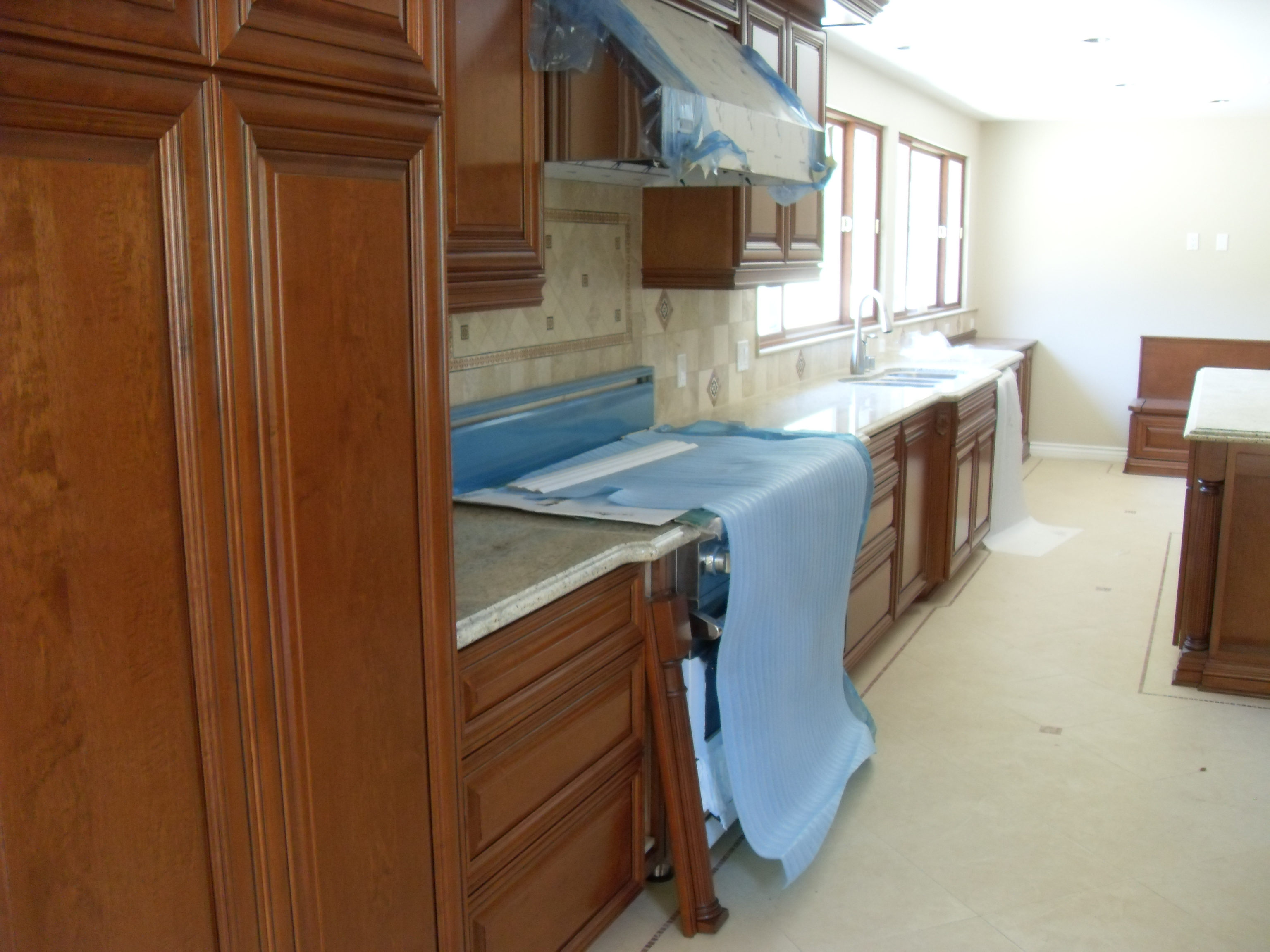 Kitchen Cabinets With Renner Polyurethane