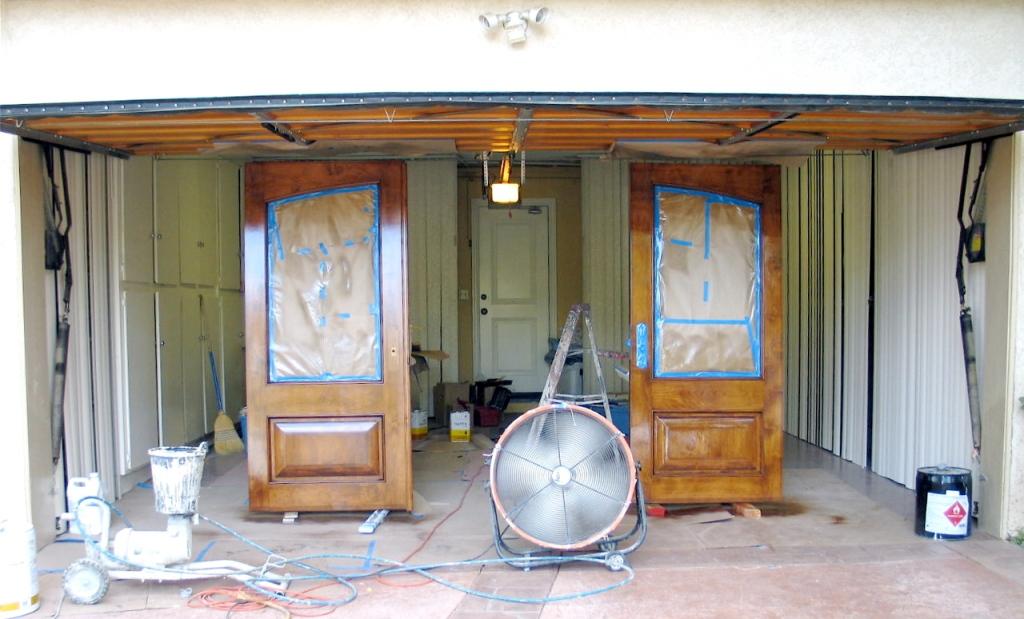 Pinnacle s catalyzed polyurethane woodfinishers weblog - Exterior polyurethane wood finish ...